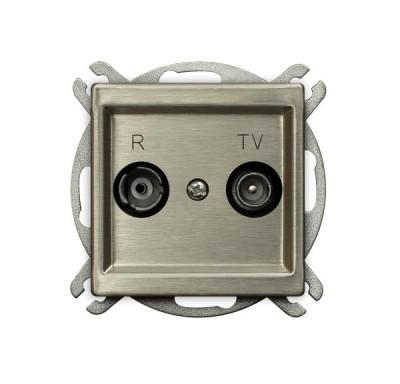 Gniazdo RTV przelotowe 14-dB