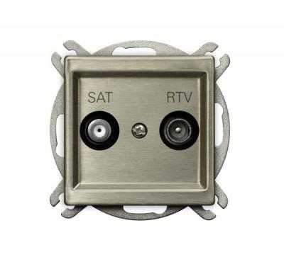 Gniazdo RTV-SAT końcowe
